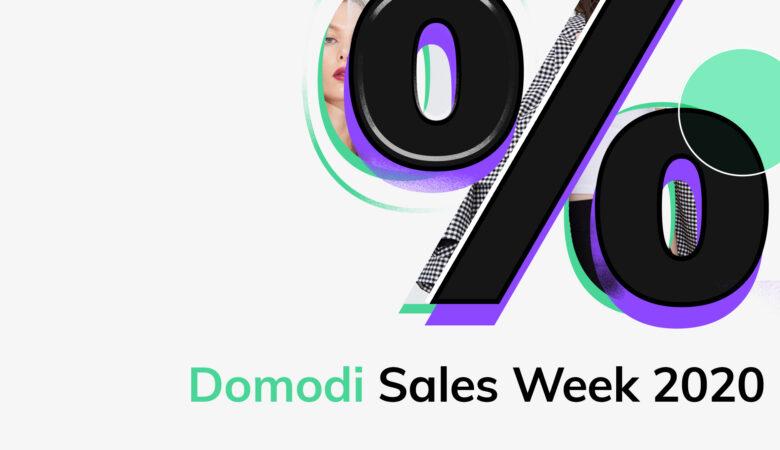 Domodi sales week – osiem tygodni niepowtarzalnych promocji