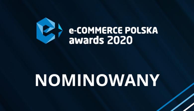 Nominacja w konkursie E-commerce Awards Polska 2020