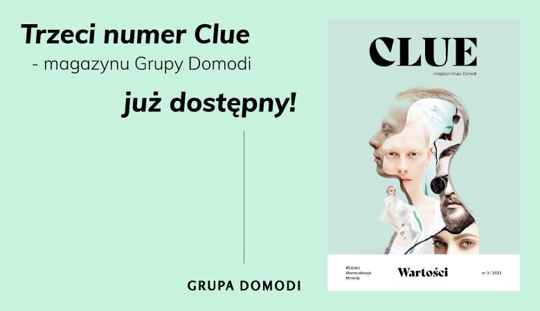 Trzecie wydanie Clue – już dostępne!