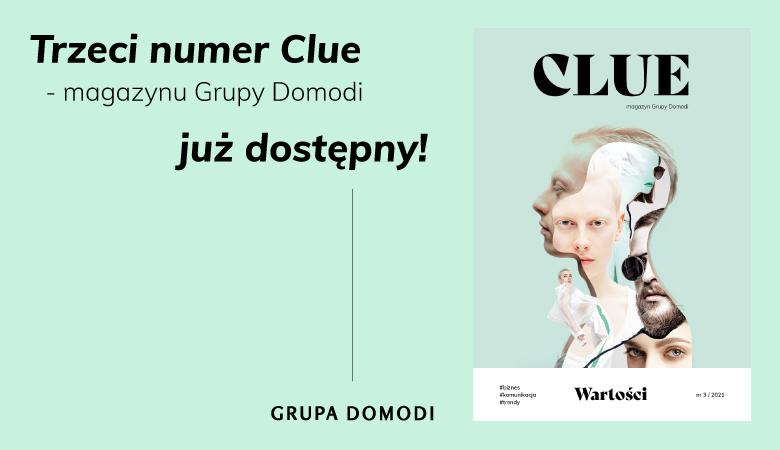 Aktualności Clue Grupa Domodi