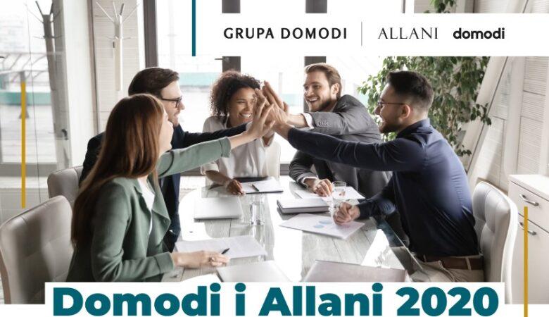 Grupa Domodi w liczbach: podsumowanie 2020 roku