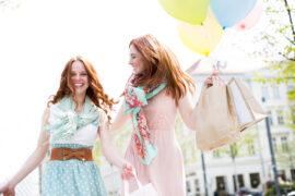 kobiety na zakupach wiosennych